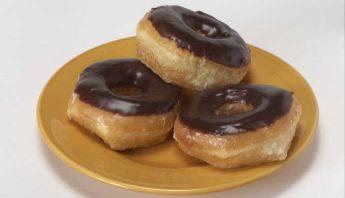 Chocolate Iced Glazed Donut
