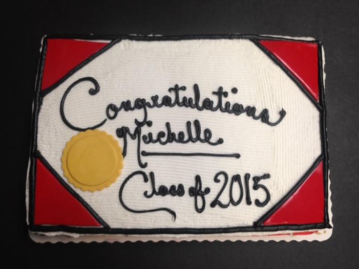 Graduation Cakes Style F