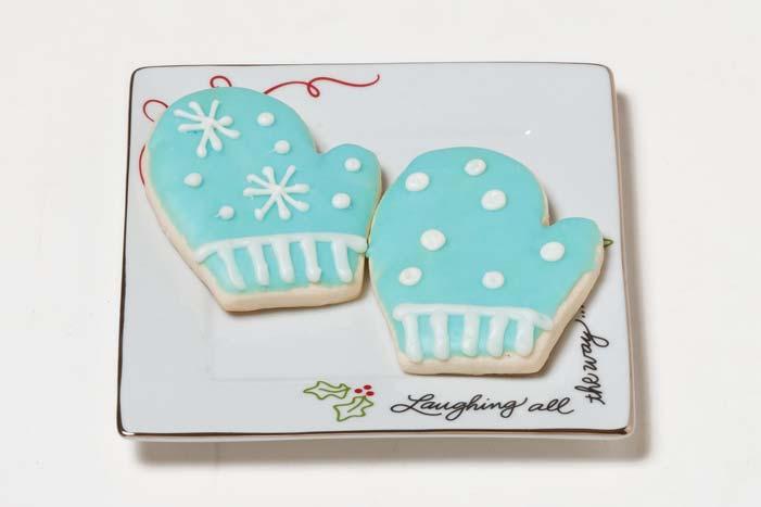 Christmas Mitten Cookies