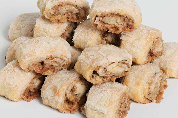 Cinnamon Nut Rugelach