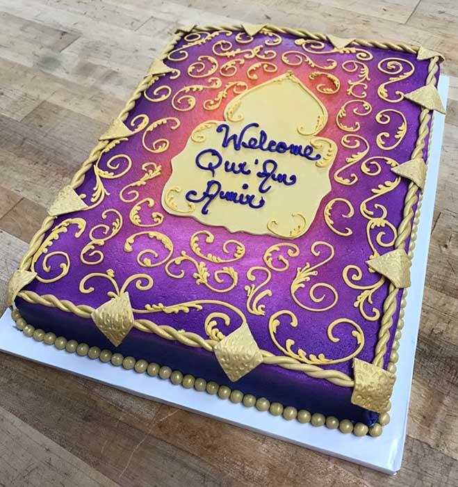 Arabian Dream Cake Design