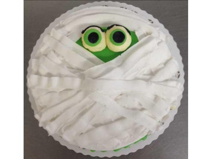 Mummy Face Halloween Design