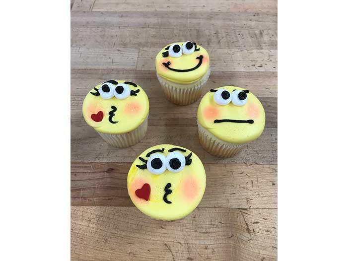 Emoji Cupcake Designs