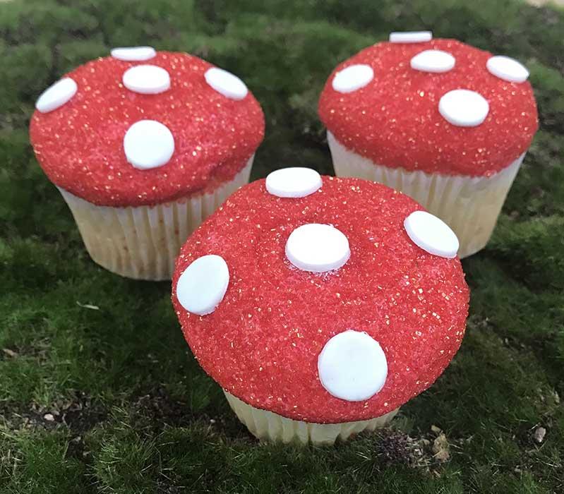 Mushroom Cupcakes