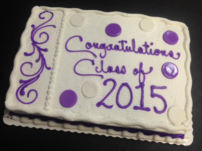 Graduation Cakes Style D