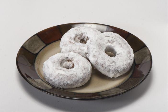 Powered Cake Donut