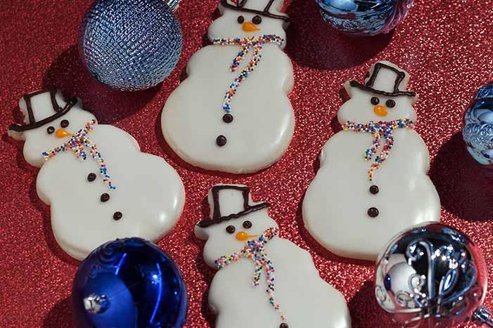 Snowman-Cookies