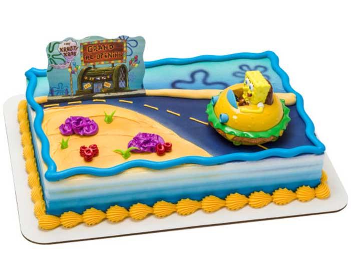 Sponge Bob Deco Set