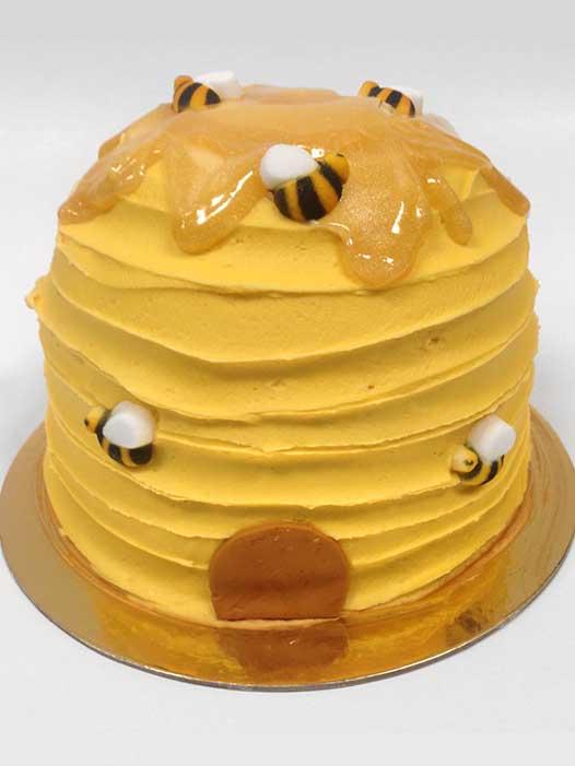 Beehive Form Cake