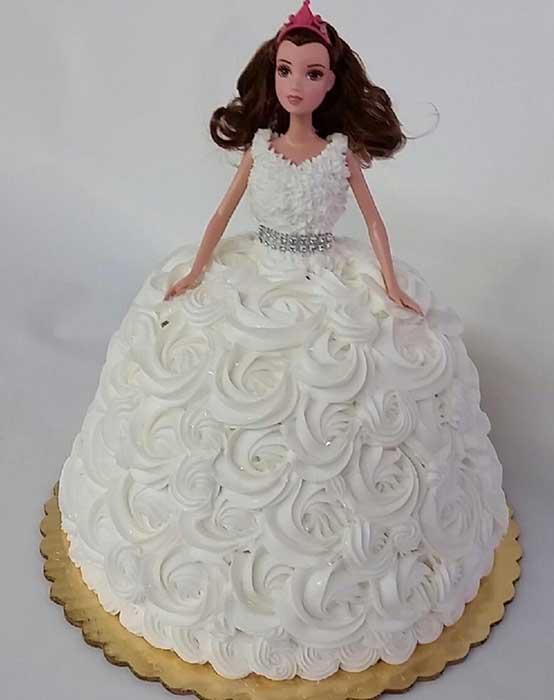 Bridal Shower Doll Cake Design