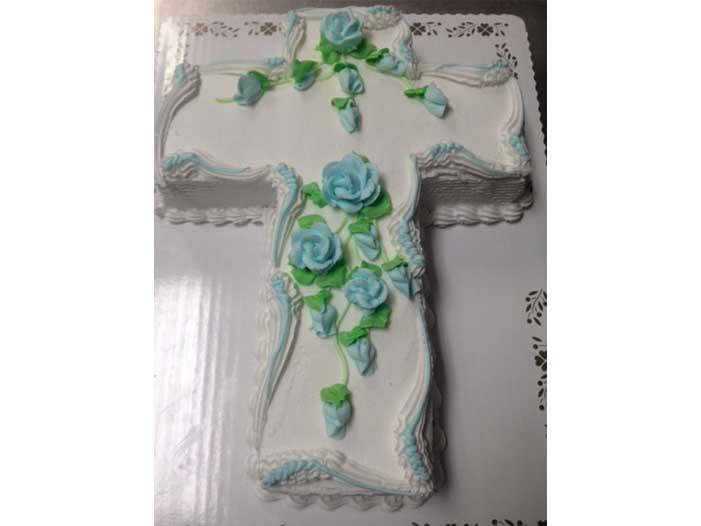 Cross Form Cake