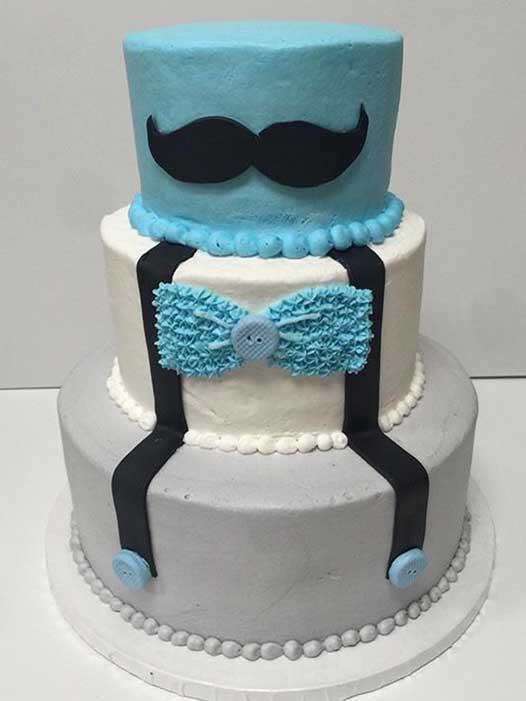 Little Man Cake Design