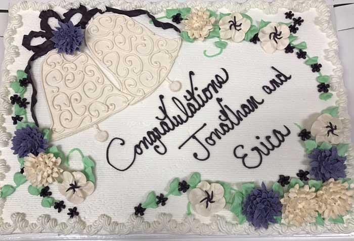 Wedding Bells Cake Design