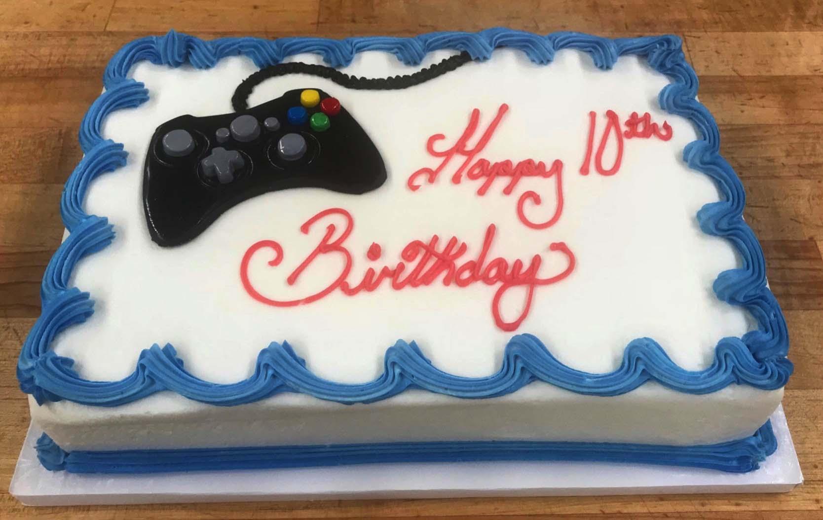 Fondant Controller Cake Design