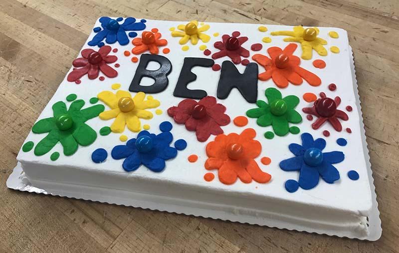 Painball Cake Design